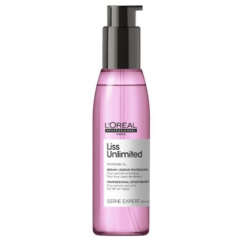 L'Oréal Serie Expert Liss Unlimited Shine Perfecting Blow-Dry Oil 125ml