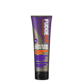 Fudge Clean Blonde Damage Rewind Violet-Toning Shampoo 250ml